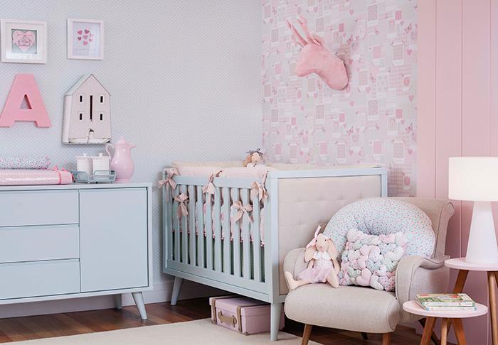 a643dc5ac Os segredos para decorar um quarto de bebê nas cores rosa e azul -